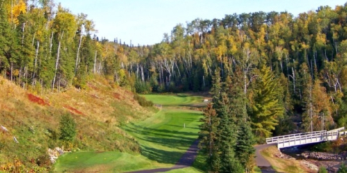 Superior National Golf Course Minnesota golf packages
